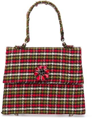Mi Mi Sol Tartan-Check Tote Bag