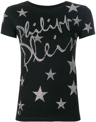 Philipp Plein Star logo script T-shirt