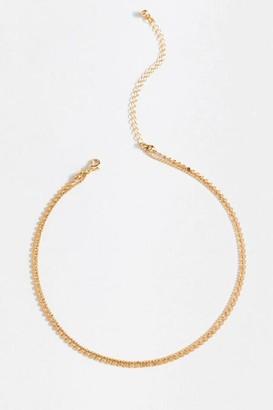 francesca's Lexi Circle Chain Choker - Gold
