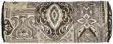 """Jane Wilner Designs Phoebe Tile Neckroll Sham, 6"""" x 16"""""""