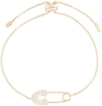 APM Monaco Safety Pin Adjustable Bracelet