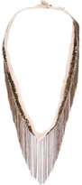 Marie-Laure Chamorel Marie Laure Chamorel fringed necklace