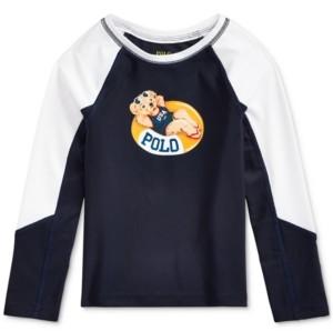 Polo Ralph Lauren Toddler Girls Polo Bear Stretch Rash Guard