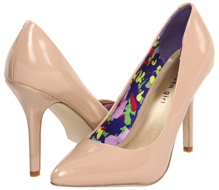 Madden-Girl Tartt (Blush Patent) - Footwear