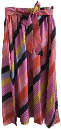 Stine Goya Pink Silk Skirts
