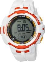 Head Men's 'Super G' Quartz Resin and Rubber Casual Watch, Color: (Model: HE-104-01)