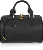 Aurore leather duffle bag