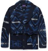 Ralph Lauren Purple Label Shawl-Collar Wool, Cashmere And Silk-Blend Belted Cardigan