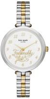 Kate Spade holland fashionably late bracelet watch, 34mm