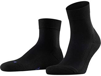 Falke Cool Kick Short Sock (Black) Crew Cut Socks Shoes