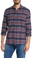 Tailor Vintage Men's Plaid Flannel Sport Shirt