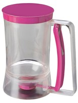 Chicago Metallic Batter Dispenser 4 Cup Capacity Stainless Steel Pink
