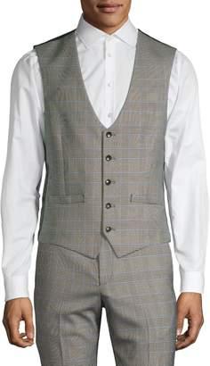 Lambretta Glen Plaid Suit Vest