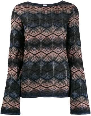 M Missoni patterned sweatshirt