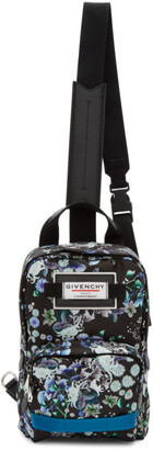 Givenchy Multicolor Floral Downtown Sling Bag