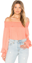 Blq Basiq Off Shoulder Long Sleeve Top