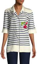 Dolce & Gabbana Women's Stripe Blouse