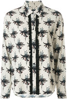 Markus Lupfer Clara polar bear and flower print shirt