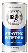 Magic Shaving Powder, Regular Strength, 5-Ounce Cans by