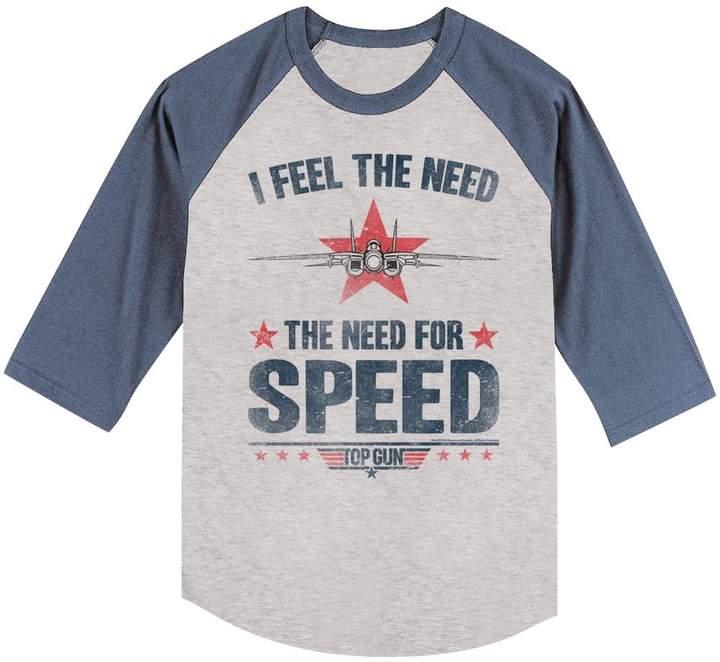 Top Gun Mens Needing Speed T-Shirt