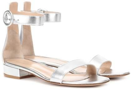 Gianvito Rossi Exclusive to mytheresa.com – Portofino 20 leather sandals