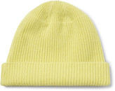 Our Legacy Ribbed Merino Wool, Angora and Cashmere-Blend Beanie