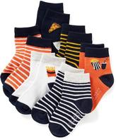 Old Navy Non-Skid Crew Socks 6-Pack for Toddler & Baby