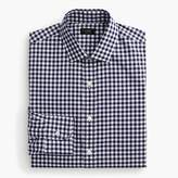 J.Crew Tall Ludlow Slim-fit spread-collar shirt in navy gingham