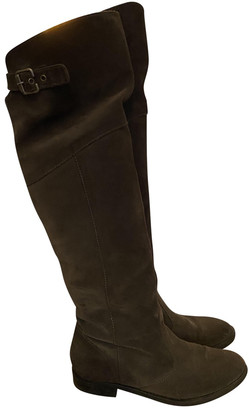 Non Signé / Unsigned Non Signe / Unsigned Anthracite Suede Boots