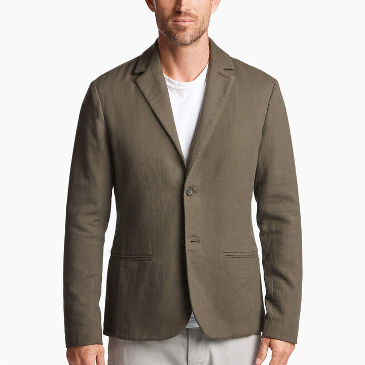 James Perse Cotton Wool Blend Blazer
