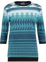 Stella Jean Jacquard-Knit Wool Sweater