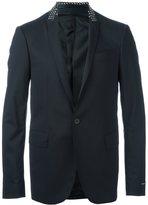 Les Hommes embellished lapel blazer