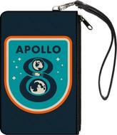 Buckle-Down Unisex-Adult's Canvas Coin Purse Apollo 8