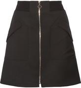Tim Coppens Wool-twill Mini Skirt - Black