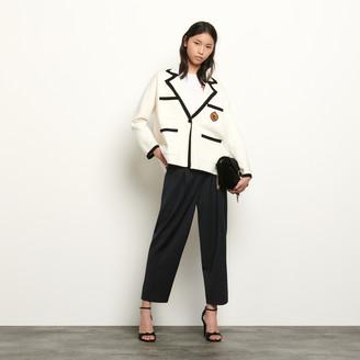 Sandro Tailored jacket style cardigan