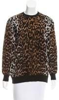 Stella McCartney Leopard Knit Sweater