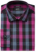 Alfani Men's Classic-Fit Boldberry Mega Gingham Dress Shirt, Created for Macy's