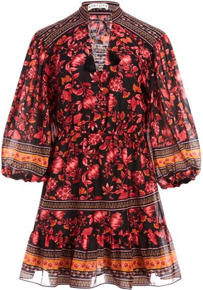 Alice + Olivia Sedona Floral Mini Dress