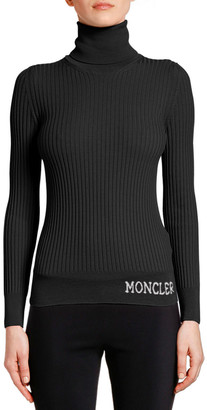 Moncler Ciclista Ribbed Wool Sweater