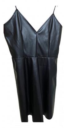 Zara Black Leather Dresses