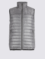 M&s Collection Lightweight Quilted Gilet With Stormweartm