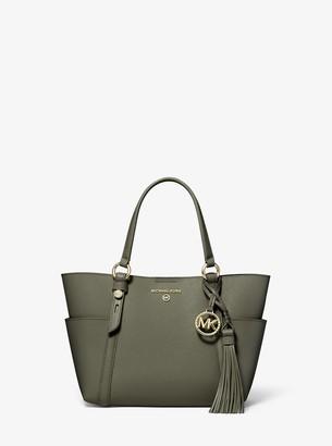 MICHAEL Michael Kors Nomad Small Saffiano Leather Messenger Bag