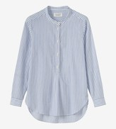 Toast End on End Stripe Shirt