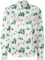 Toga flower print shirt - women - Polyester/Acetate - 36