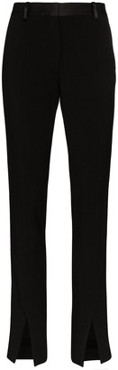 Victoria Beckham High-Waisted Front Split Trousers