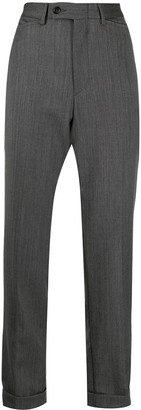 Gucci Pre Owned Cropped Tailored Trousers