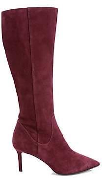 Aquatalia Women's Madison Waterproof Suede Knee-High Boots