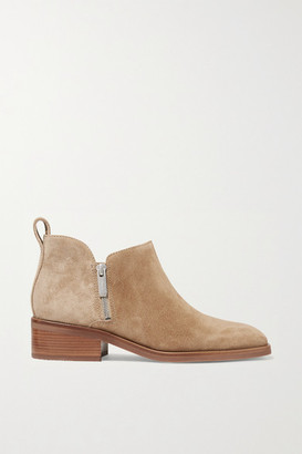 3.1 Phillip Lim Alexa Suede Ankle Boots - Sand