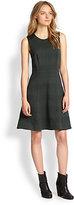 jennifer garner  Who made  Jennifer Garners green plaid dress that she wore in New York on October 1, 2014?