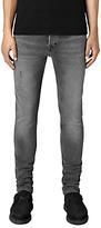 Allsaints Allsaints Skinny Fit Cigarette Jeans, Black